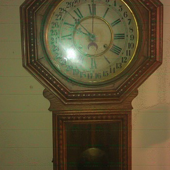 My mother's Gilbert wall clock - Clocks