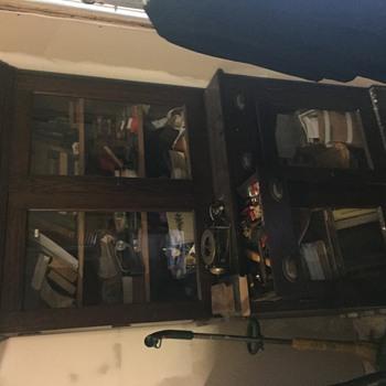 Antique Pie Safe? Doctors medicine cabinet?? I have no idea... - Furniture