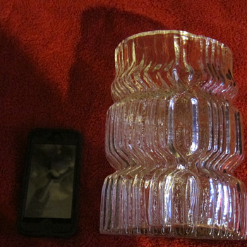 Rosenthal studio-line glass oval vase  - Art Glass