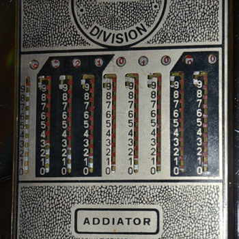 The Addiator - Patents applied for.