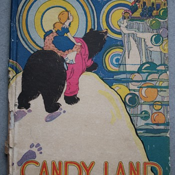 1928 Candy Land, Published by the McLoughlin Brothers with Illustrations and Text by Hildegard Lupprian - Books