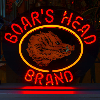 Boar's Head Neon….. - Signs