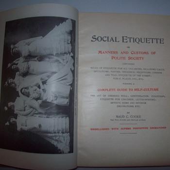 Social etiquette - Books