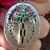 Murrle Bennett Silver Enamel Pendant
