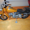 Harley pan head tin toy