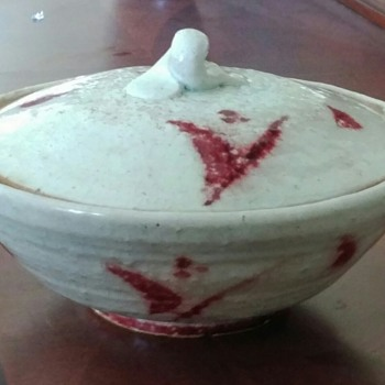 "Favorite Pottery Piece - ""Raspberry Swirl"" - Pottery"