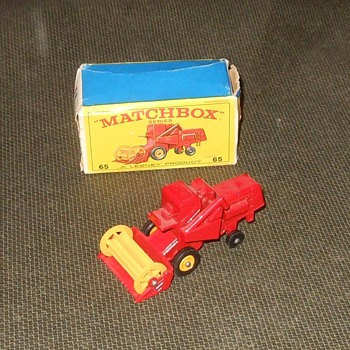 Matchbox #65C Claas Combine Harvester - Model Cars