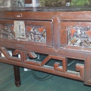 antique desk identification