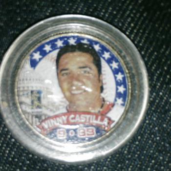 vinny castilla quarter, 2000 - Baseball