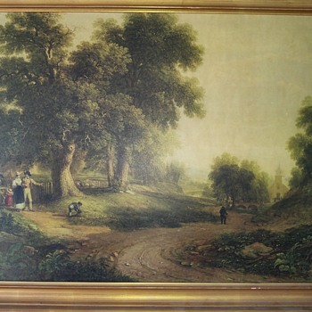 For 2Yrs Or So I Observed This Painting At A Thrift Store; Then... - Fine Art