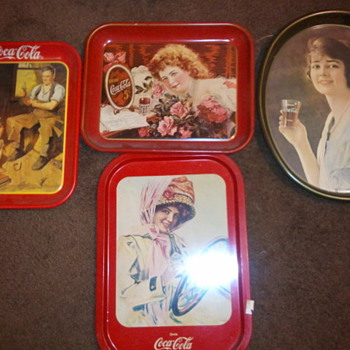 Coca-Cola tray collection - Coca-Cola