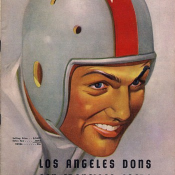 More old All America Football Conference programs - Football