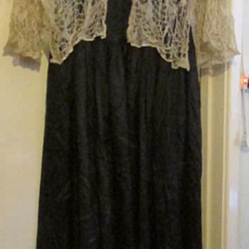 Victorian/Edwardian silk dress