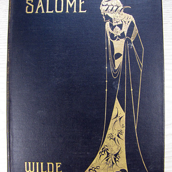 1906 Aubrey Beardsley Illustrated Version of Oscar Wilde's Salome - Art Nouveau