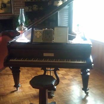 1870 7.5' grand piano