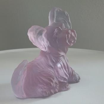 Murano Glass dog  - Animals