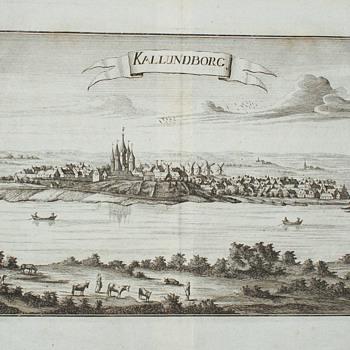 Print:  Kallundborg, Denmark - Posters and Prints