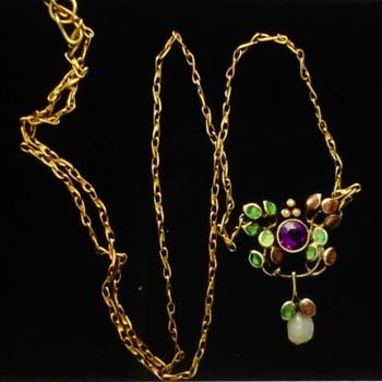 Jessie Marion King? Necklace - Art Nouveau