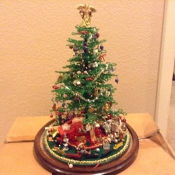 My vintage miniature Christmas Tree