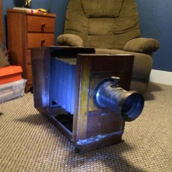 My antique box camera  - Cameras