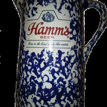 Hamms Beer Pitcher - Breweriana
