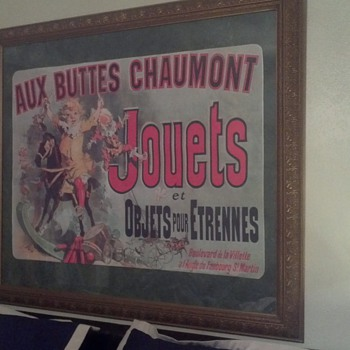 AUX BUTTES CHAUMONT poster  - Posters and Prints
