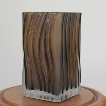 Talking about texture - here's another - Art Glass