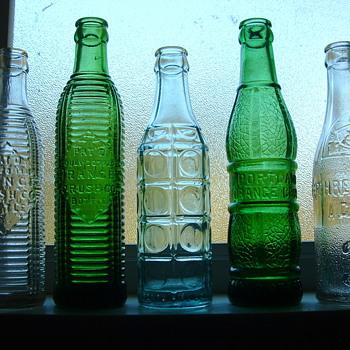 Orange Crush Bottles - Bottles