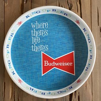 Budweiser serving tray  - Breweriana