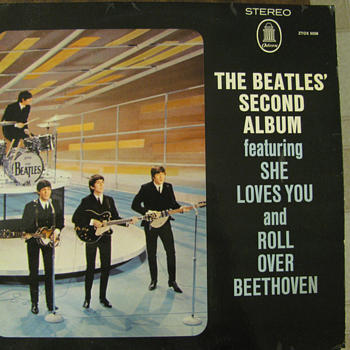 Rare Beatles Second Album on Odeon!
