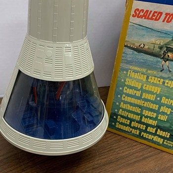 1966 Gi Joe Space Capsule  - Toys