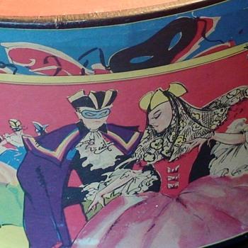 Masquerade Scene Hat Box