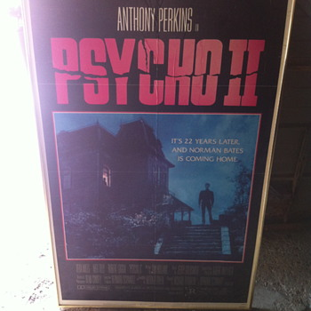 Psycho two poster.