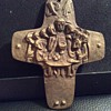 Old bronze cross
