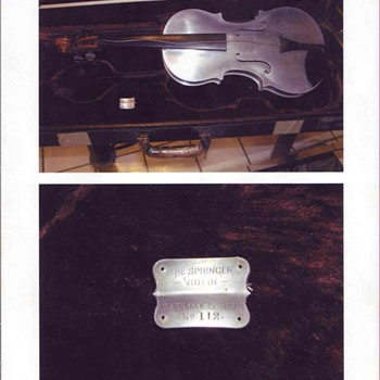 Springer Violin  #112 - Musical Instruments