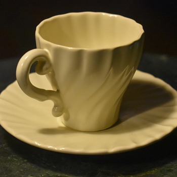 Tiny Teacup - Franciscan Ware - Made in California - Pottery