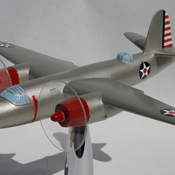 Bronzart B-26 Marauder First Test Model- Baltimore - Toys