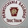 PRR Truc Train Sign