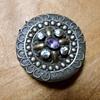 Victorian Pill Box .925 Silver