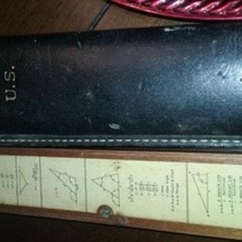 K&E 4108 military slide ruler value unknown world war 2 history very rare