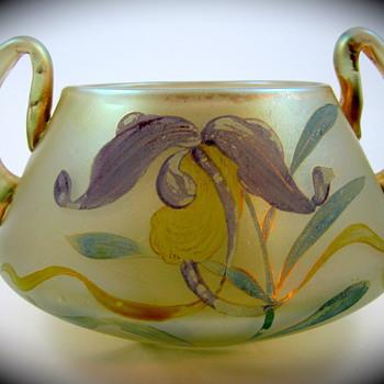 Loetz Arcadia, Serie II, Form Nr. 139, Dek I/I 1899 - Art Glass