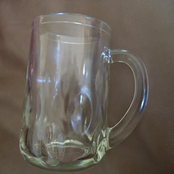 70s beer mug /peanut butter !!!