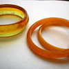 vintage plastic bangles
