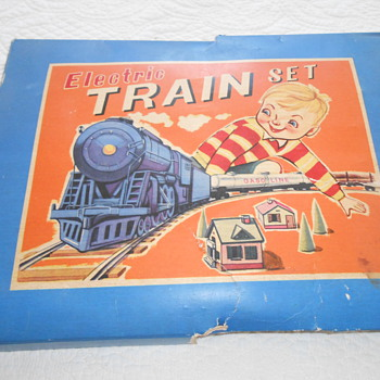 Electro train set - Railroadiana