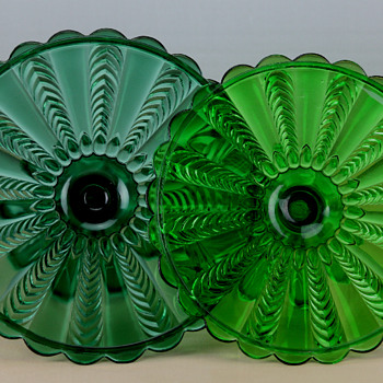 USG #15056 Florida Cake Stands c1898 - Glassware