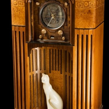 1935 Zenith 1000 Z Stratosphere radio - Radios