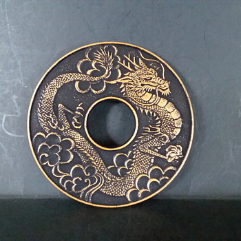 Iwachu Dragon nabeshiki (trivet) - Asian