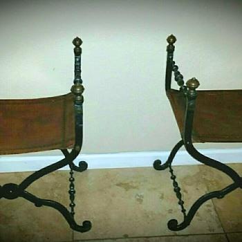 Savonarola curule chairs 17th century type
