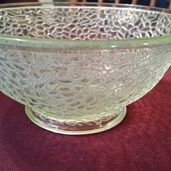 Light Green Bowl - Glassware