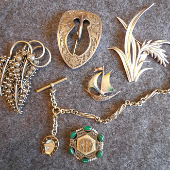 Some New Old Jewelry Flea Market Finds With More To Come! :^D - Fine Jewelry